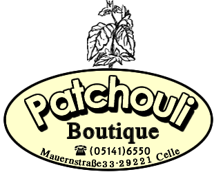 Logo Patchouli Celle Mode aus Naturtextilien